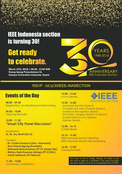 30 Year IEEE Indonesia